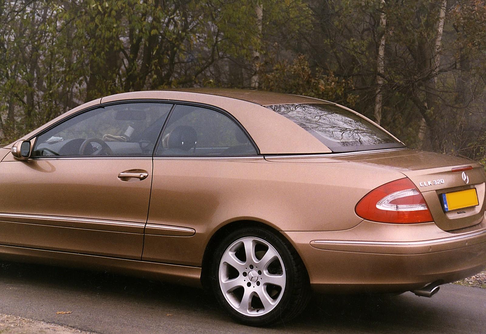 Hardtop Mercedes Clk 209 Nieuw Cabrio Care