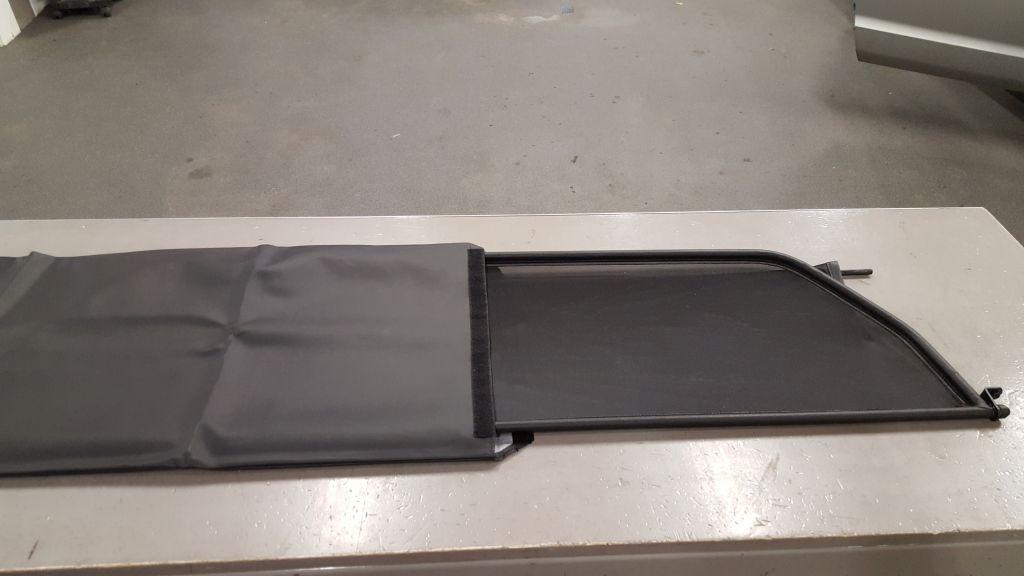 Beschermhoes Voor Windscherm 130 X 40 Cm Cabrio Care
