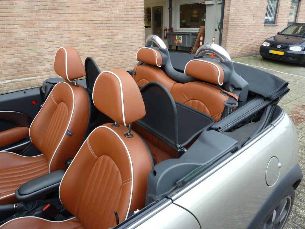 Ongekend Windscherm New MINI R52 & R57   Cabrio Care TI-42