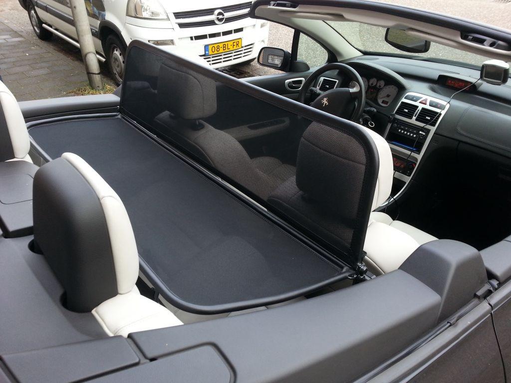 Windscherm Peugeot 307cc Cabrio Care