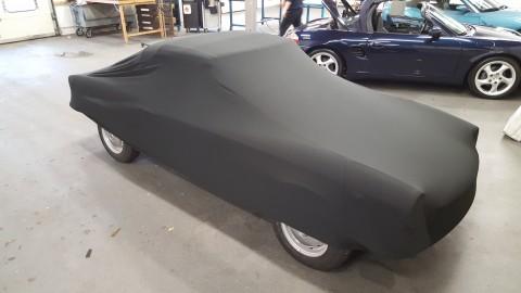 Auto afdekhoes stretch binnengebruik XS zwart