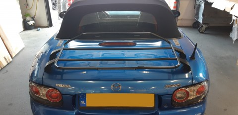 Bagagerek Mazda MX-5 NC softtop zwart incl, 3de remlicht