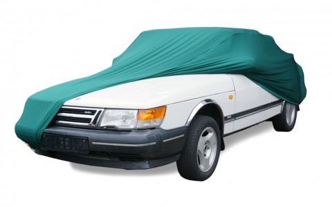 Auto afdekhoes stretch binnengebruik L groen
