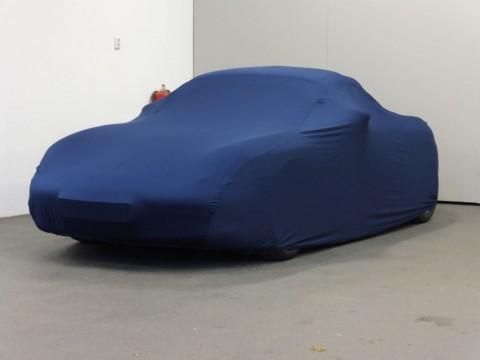 Auto afdekhoes stretch binnengebruik M blauw