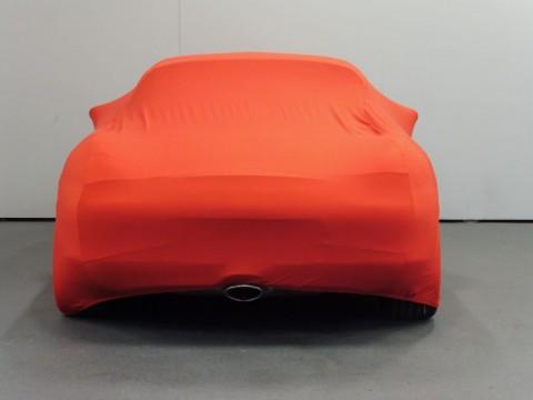 Auto afdekhoes stretch binnengebruik M rood