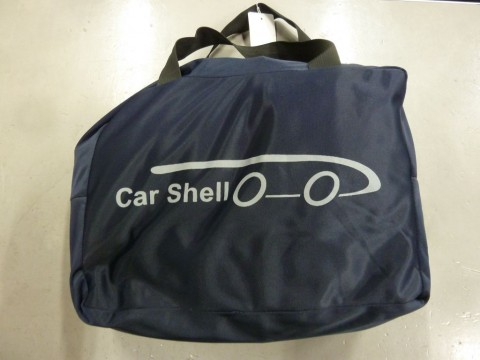 Auto afdekhoes stretch binnengebruik XL blauw