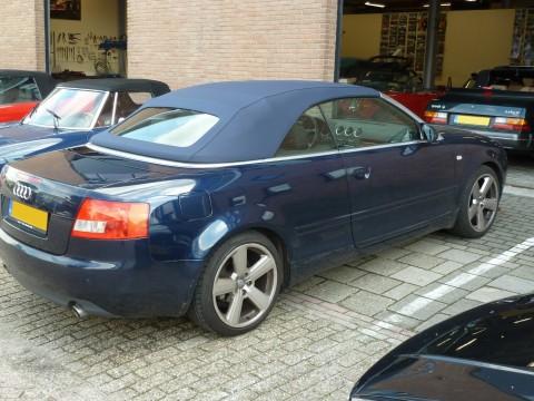 Audi A4, softtop Sonnenland A5 blauw