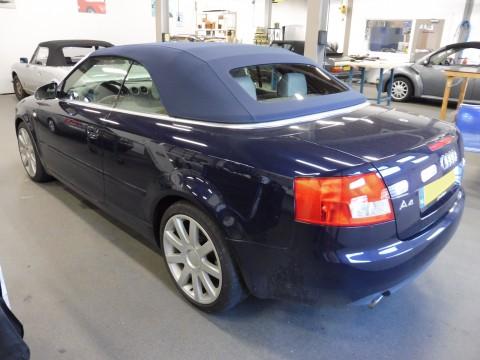 Audi A4, softtop Sonnenland A5 blauw (2)