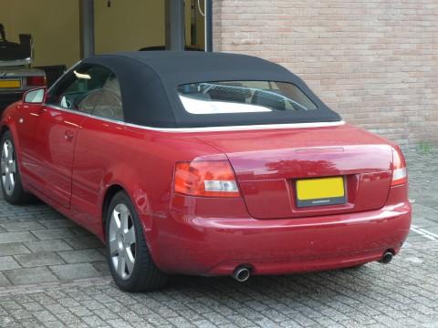 Audi A4, softtop Sonnenland A5 zwart  (2)