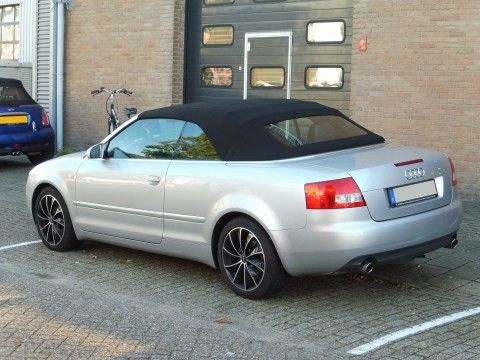 Audi A4, softtop Sonnenland A5 zwart