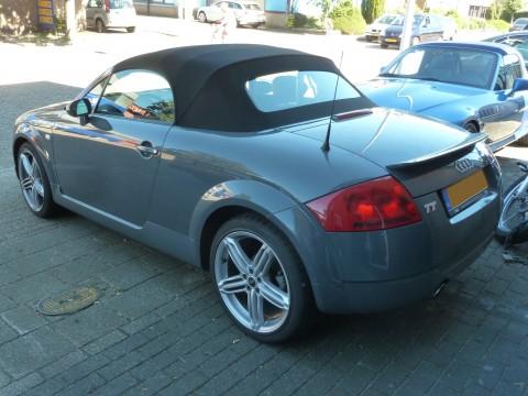 Audi TT '95 - '05, softtop Twillfast zwart (6)