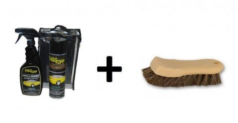 RaggTopp Fabric Protectant Kit   Borstel Paardenhaar