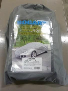 Auto afdekhoes buitengebruik grijs nr.6