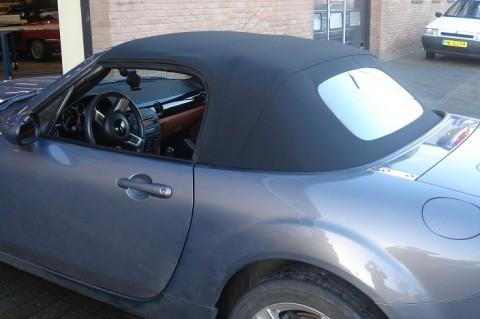 Cabriokap Mazda MX5 NC stof zwart