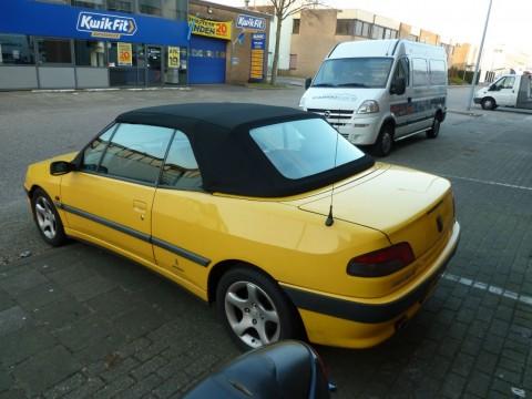 Cabriokap Peugeot 306 Sonnenland A5 zwart