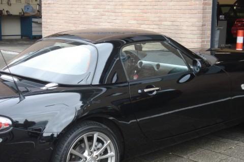 Hardtop Mazda MX5 NC zwart