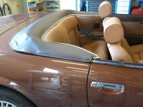 Kaphoes Peugeot 504 cabriolet vinyl bruin