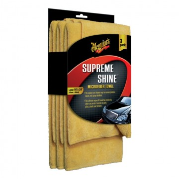 Meguiars Supreme Shine Microfiber 3-pack