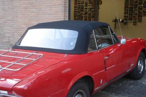 Softtop Fiat 124 Spider CS2 zwart Stayfast