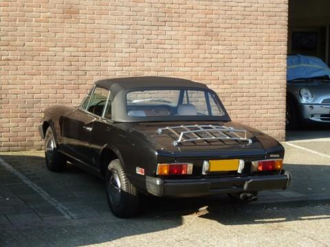 Softtop Fiat 124 Spider CS2 zwart vinyl