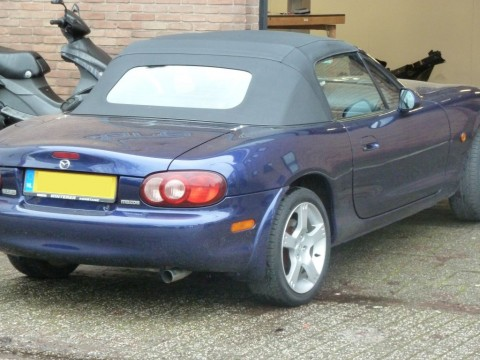 Softtop Mazda MX5 NA / NB stoflook / glas