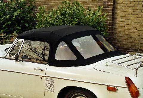 Softtop MG-B Stayfast zwart 1977-1979