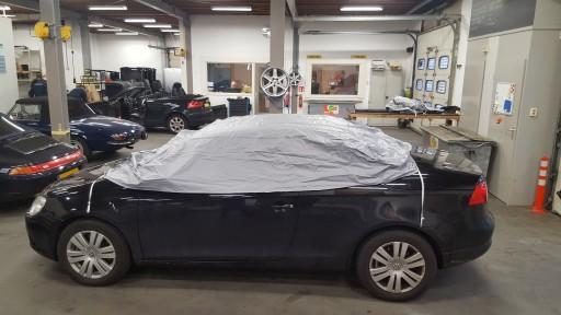 Auto afdekhoes voor cabriokap en ruiten (large)