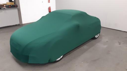 Auto afdekhoes stretch binnengebruik S groen
