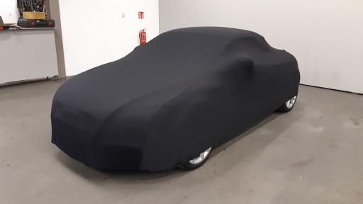 Auto afdekhoes stretch binnengebruik S zwart