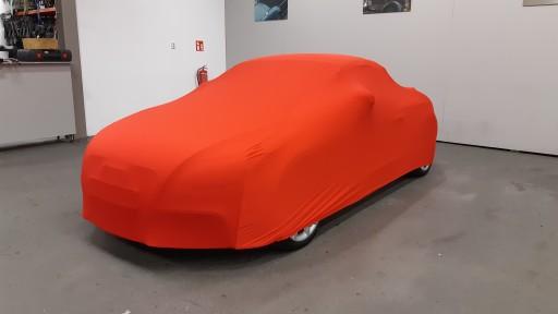 Auto afdekhoes stretch binnengebruik S rood