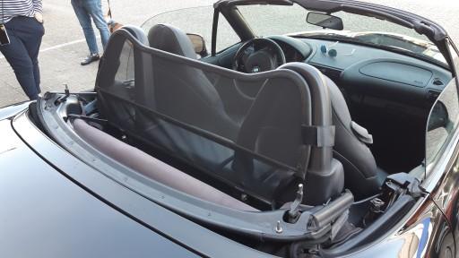 Windscherm BMW Z3 (type met rolbeugel)