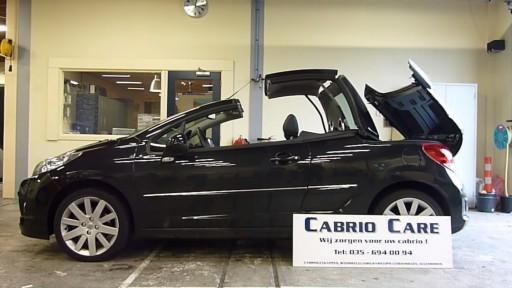 Cabriokap module Peugeot 207CC