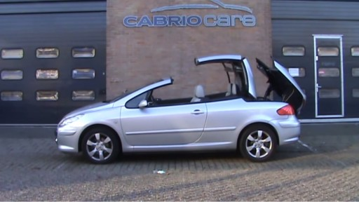 Cabriokap module Peugeot 307CC