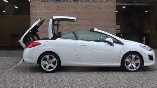 Cabriokap module Peugeot 308CC