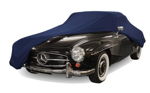 Afdekhoes (maathoes) Mercedes 190 SL blauw