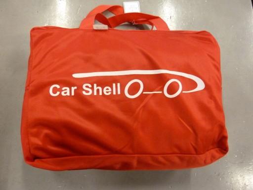 Auto afdekhoes stretch binnengebruik XL rood