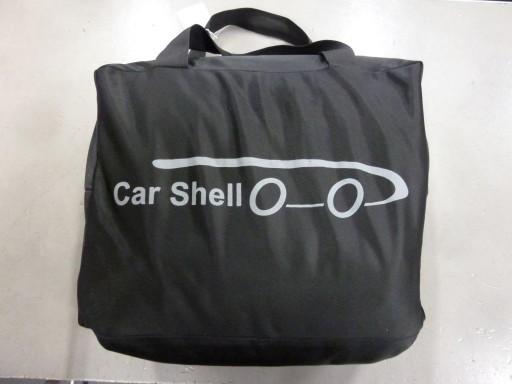 Auto afdekhoes stretch binnengebruik XL zwart
