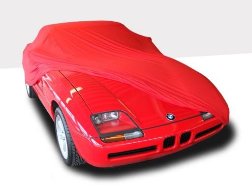 Auto afdekhoes stretch binnengebruik XS rood