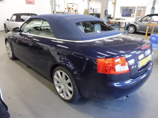 Softtop Audi A4 Sonnenland A5 Blauw