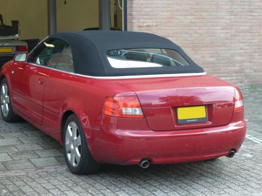 Softtop Audi A4 Sonnenland A5 Zwart