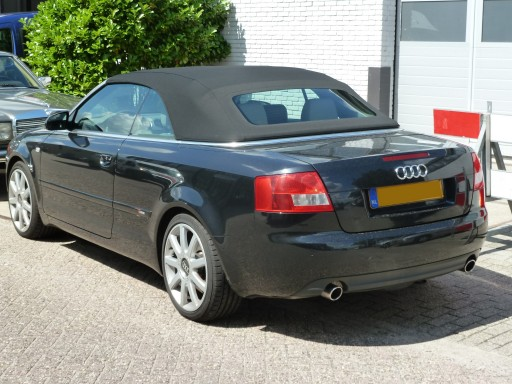 Softtop Audi A4 Twillfast zwart