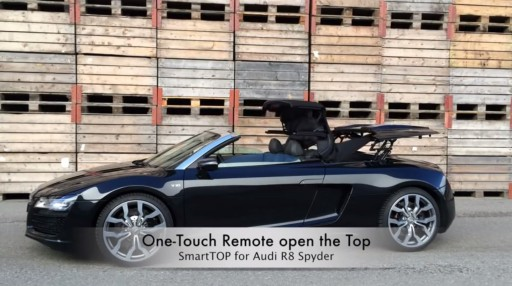 Cabriokap module Audi R8 Spyder