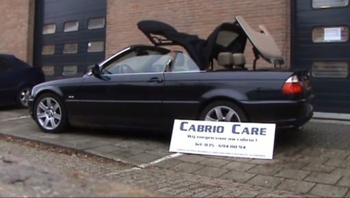 Cabriokap module BMW 3-serie E46