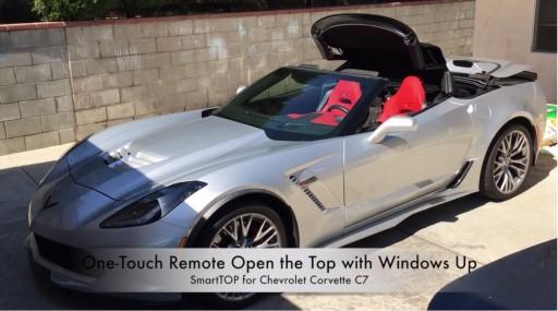 Cabriokap module Chevrolet Corvette C7 vanaf 2013