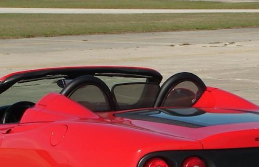 Windscherm Ferrari 360 & F430 Spider
