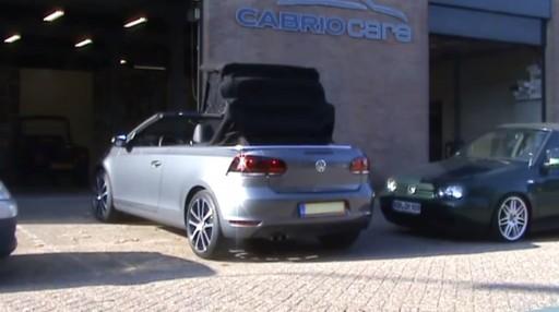 Cabriokap module VW Golf VI