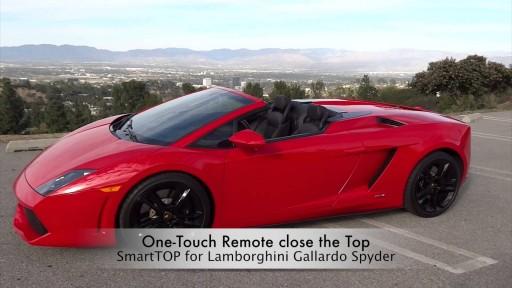Cabriokap module Lamborghini Gallardo