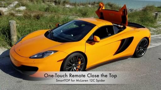 Cabriokap module McLaren 650 S, 12C, 570S, 675LT