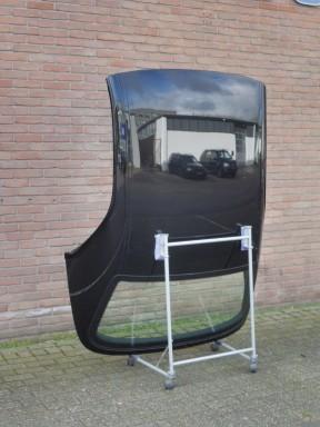Hardtop BMW E46 Schwarz II  / zwarte lijsten
