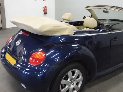 Kaphoes VW New Beetle,  beige vinyl